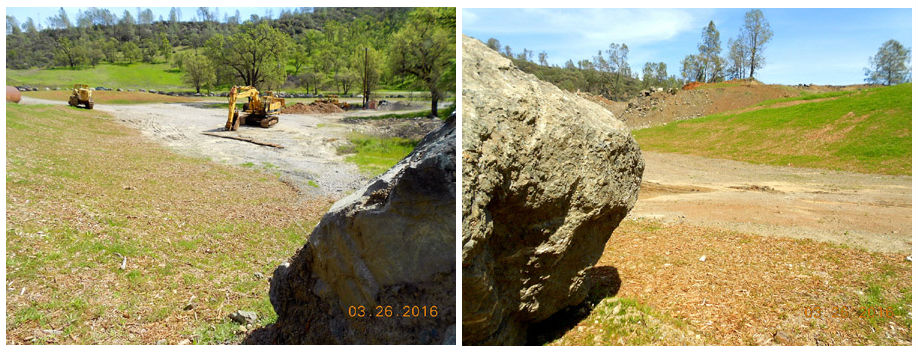 Hard Rock Quarry Reclamation Progress (2016)